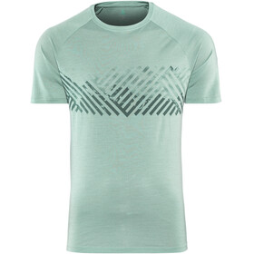 Odlo BL Concord SS Top Crew Neck Men arctic-mountain stripe SS19